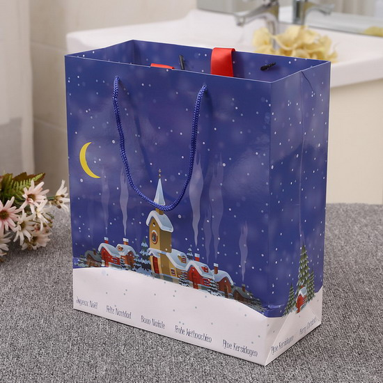 Christmas Design Paper Bag