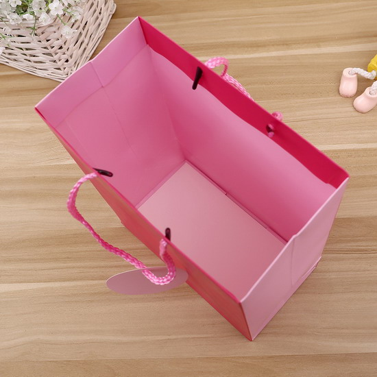 classical solid color with tag paper bag