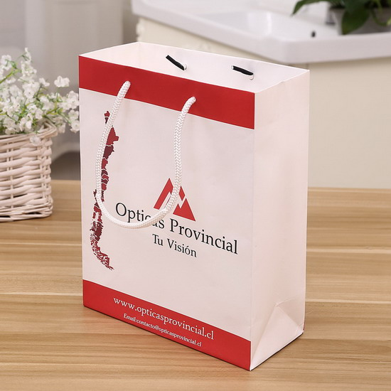 white kraft paper telephone pack cheap paper bag