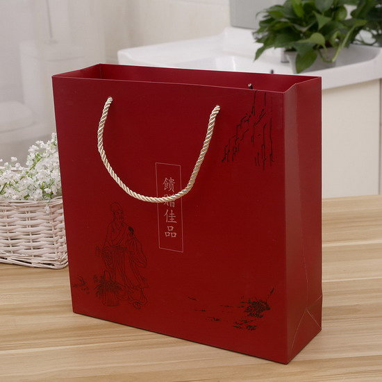 wholesale China tea gift paper bag